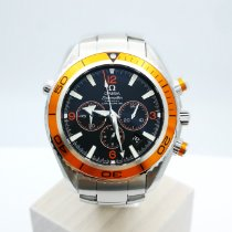 Omega 2218.50.00 Steel 2010 Seamaster Planet Ocean Chronograph 45.5mm pre-owned