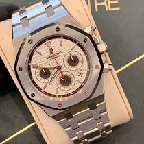 Audemars Piguet Royal Oak Chronograph Сталь 39mm Cеребро Без цифр