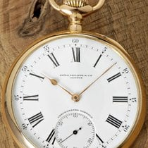 Patek Philippe Uhr gebraucht 1908 Roségold Handaufzug Nur Uhr