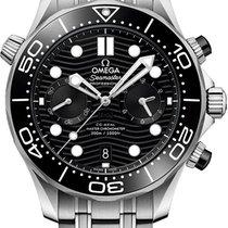 Omega Seamaster Diver 300 M Acier 44mm Noir