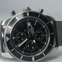 Breitling Superocean Héritage Chronograph Steel 46mm Black No numerals