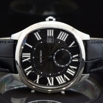 Cartier Drive de Cartier Steel 40mm Black Roman numerals United Kingdom, Essex