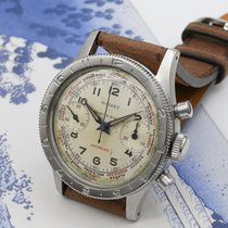 Gallet Acier 34,5mm Remontage manuel flying officer occasion
