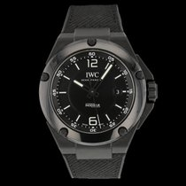 IWC Ceramic Automatic Black 46mm pre-owned Ingenieur AMG