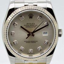 Rolex Datejust Stahl 36mm Silber Deutschland, Nürnberg