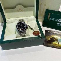 Rolex Sea-Dweller 4000 Сталь 40mm Черный Без цифр