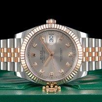 Rolex Datejust II Gold/Stahl 41mm Pink Keine Ziffern Deutschland, Essen