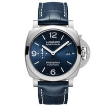 Panerai Luminor Marina Steel Blue United States of America, New York, New York