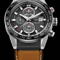 TAG Heuer Carrera Calibre HEUER 01 Steel 43mm Grey