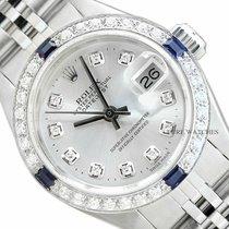 Rolex Lady-Datejust Zeljezo 26mm Srebro