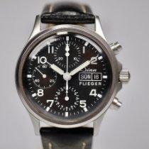 Sinn 356 Steel 38.5mm Black Arabic numerals