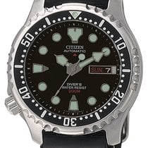 Citizen Promaster Marine Steel 41.5mm Black