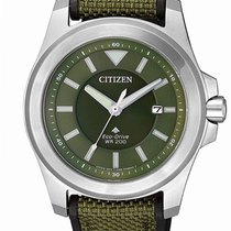 Citizen Steel 42mm Quartz BN0211-09X new