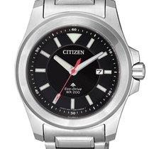 Citizen Steel 42mm Quartz BN0211-50E new