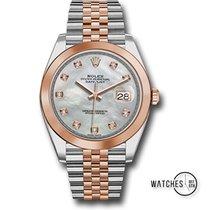 Rolex Datejust Gold/Stahl 41mm Perlmutt Keine Ziffern