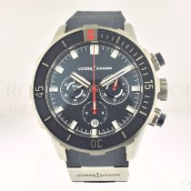 Ulysse Nardin Titanium Automatic Black pre-owned Marine Chronograph