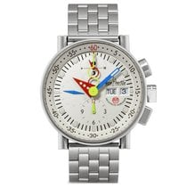 Alain Silberstein Steel 40mm Automatic LWO 5100 pre-owned United States of America, New York, Greenvale