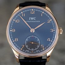 IWC Portuguese Hand-Wound new 2015 Manual winding Watch with original box and original papers IW545406