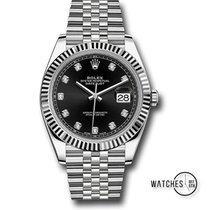 Rolex Datejust 126334 Novo Ouro branco 41mm Automático