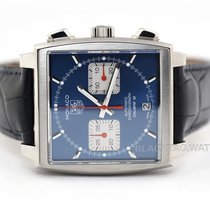 TAG Heuer Monaco Calibre 12 new 2020 Automatic Chronograph Watch with original box and original papers CAW2111.FC6183