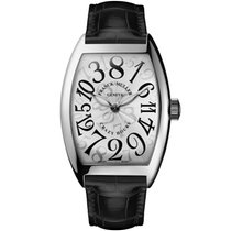 Franck Muller Crazy Hours Steel 32mm Silver