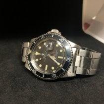 Rolex Submariner Date Staal 40mm Bruin Geen cijfers