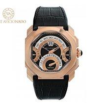 Bulgari Rose gold Automatic Black new Octo
