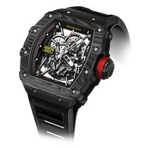 Richard Mille RM 035 RM35-02 Neu Carbon 49.94mm Automatik
