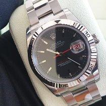 Rolex Datejust Turn-O-Graph Acier 36mm Noir Sans chiffres France, Thonon les bains