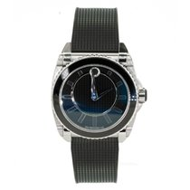 Movado Master Staal Zwart