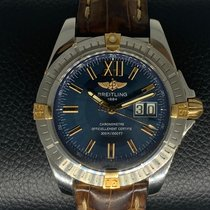 Breitling Cockpit Gold/Steel 41mm Blue No numerals United States of America, Arizona, Peoria