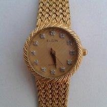 Elgin Dameur 22mm Kvarts brugt Kun ur 1980