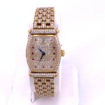 Audemars Piguet Audemars Piguet Carnegie Ladies 18K Yellow Gold & Pave Diamond Watch occasion