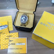 Breitling pre-owned Automatic 43mm Black Sapphire crystal 10 ATM