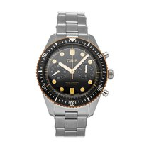 Oris Divers Sixty Five 01 771 7744 4354-07 8 21 18 pre-owned