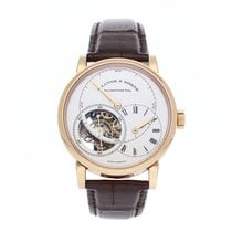 A. Lange & Söhne Richard Lange Rose gold 41.9mm Silver Roman numerals United States of America, Pennsylvania, Bala Cynwyd