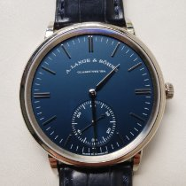 A. Lange & Söhne Saxonia White gold 38.5mm Blue United States of America, Virginia, McLean
