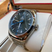 Omega Seamaster Aqua Terra Steel 41mm Blue No numerals