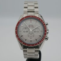 Omega Speedmaster Steel 42mm Silver No numerals United States of America, California, Santa Monica