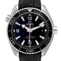 Omega Seamaster Planet Ocean Stahl 39.5mm Schwarz Arabisch