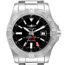 Breitling Avenger II GMT Steel 42mm Black United States of America, Georgia, Atlanta