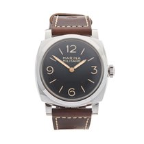 Panerai Special Editions PAM00587 Very good Steel 47mm Manual winding