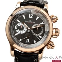 Jaeger-LeCoultre Master Compressor Chronograph Red gold 41.5mm Grey No numerals