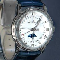 Blancpain Villeret Moonphase Steel 33mm White Roman numerals