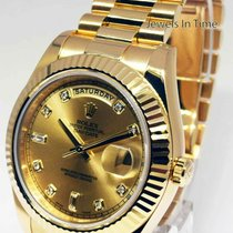 Rolex Day-Date II Geelgoud 41mm Champagne