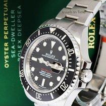 Rolex Sea-Dweller Stahl 43mm Schwarz