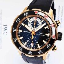 IWC Aquatimer Chronograph Oro rosa 45mm Negro
