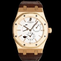 Audemars Piguet Royal Oak Dual Time Красное золото 39mm Белый