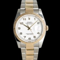 Rolex Datejust pre-owned 36mm White Date
