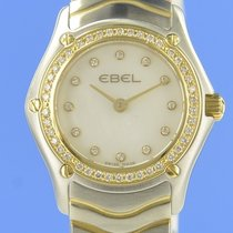 Ebel Classic Gold/Steel 23mm Mother of pearl